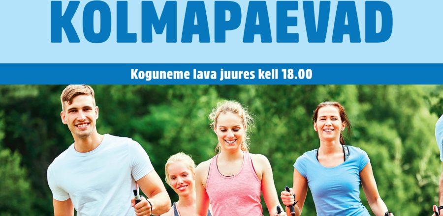 Tallinnas saab taas kepikõnni treeningutele tulla – TASUTA