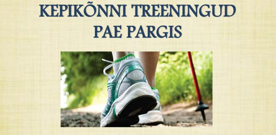 Kepikõnni treeningud Tallinnas