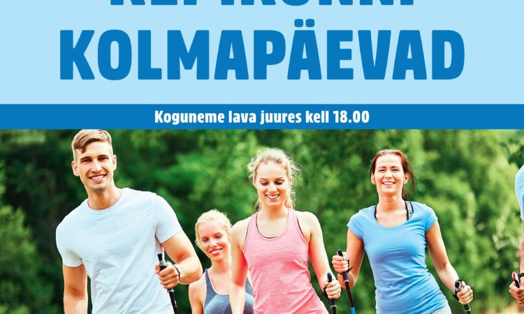 Tallinnas saab taas kepikõnni treeningutele tulla - TASUTA