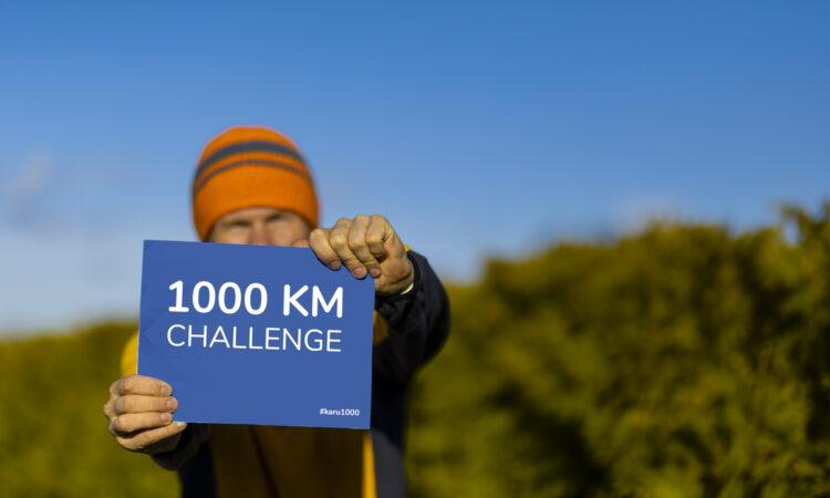 Väljakutse: Karu 1000. Kunnar Karu kõnnib 31 päeva jooksul tuhat kilomeetrit.